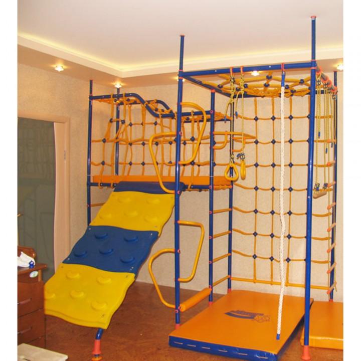 Детский спортивный комплекс Вереск 7-ми опорный со скалодромом