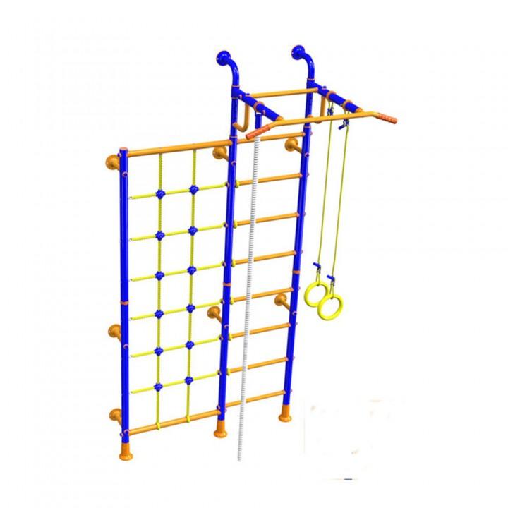 Детский спортивный комплекс Вереск SOLID с сеткой для лазания LINE-CENTER