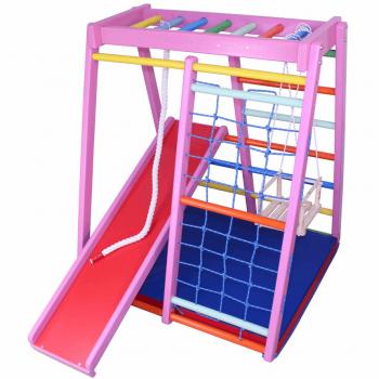 Детский спортивный комплекс Plastep Теремок 140 Барби Д