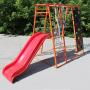 Детский спортивный комплекс Plastep Богатырь 170 М с пластиковой горкой