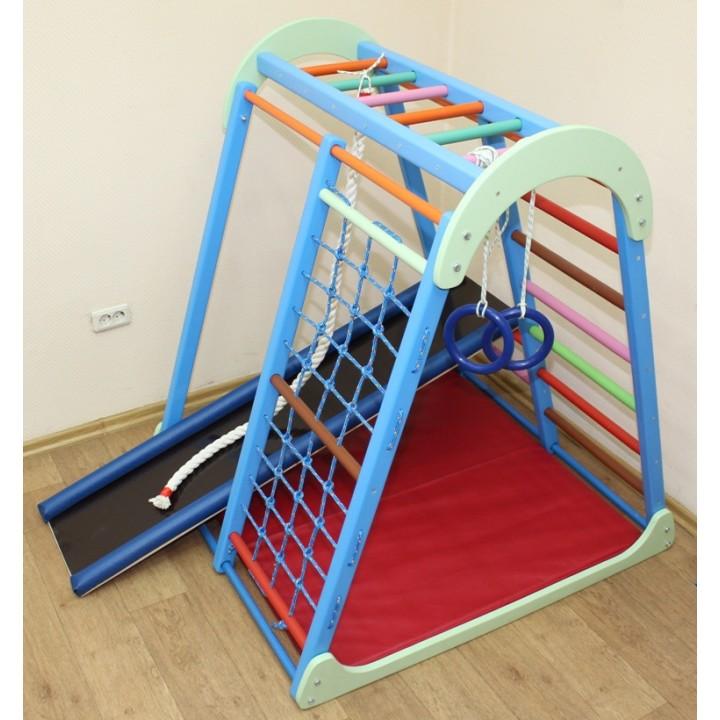 Детский спортивный комплекс Plastep Капелька 130 с рукоходом
