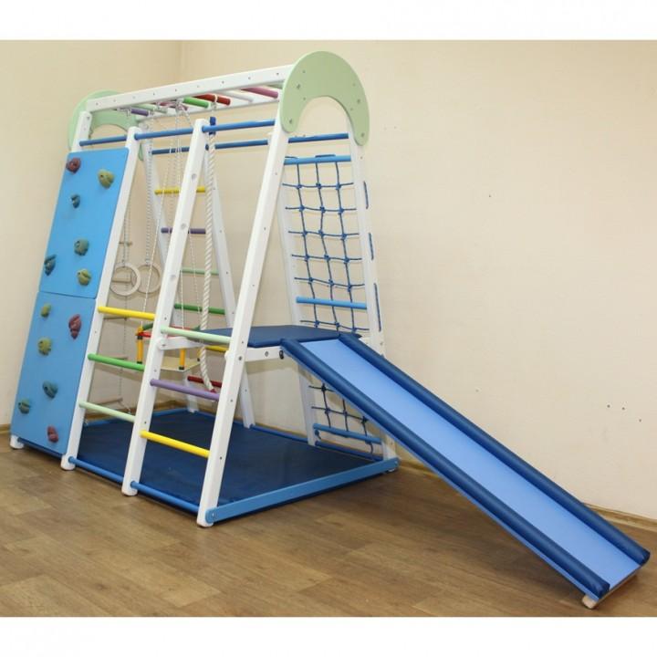 Детский спортивный комплекс Plastep Супер Чемпион 170 площадка+скалодром