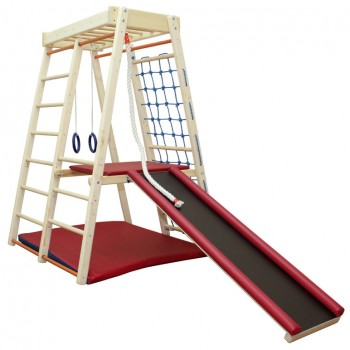 Детский спортивный комплекс Plastep Теремок 170 с площадкой Д