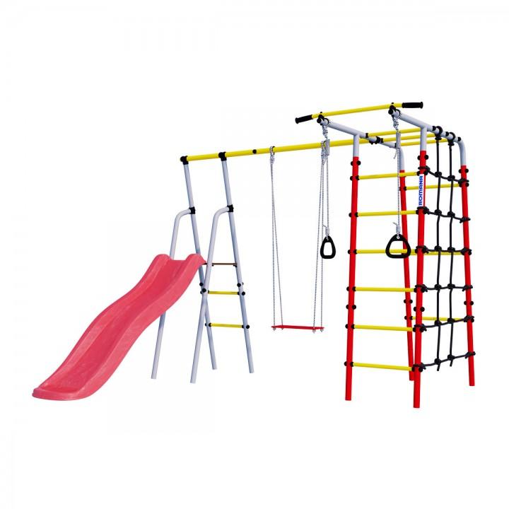 Детский спортивный комплекс для дачи ROMANA Богатырь качели фанерные