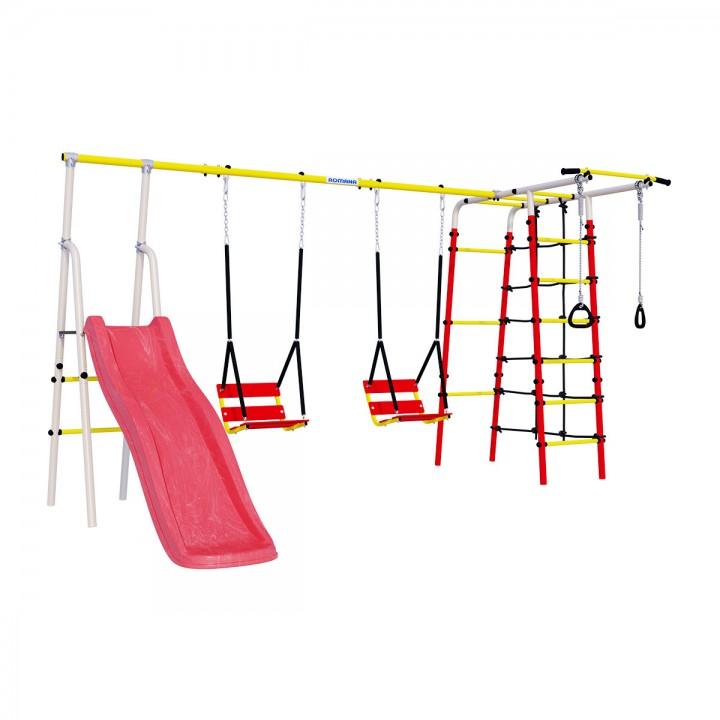 Детский спортивный комплекс для дачи ROMANA Богатырь Плюс-2 качели цепные