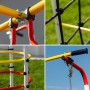 Детский спортивный комплекс для дачи ROMANA Космодром качели пластиковые
