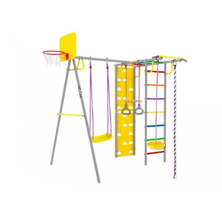 Уличный детский спортивный комплекс Midzumi Rainbow Medium