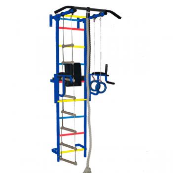 Детский спортивный комплекс Крепыш пристеночный-1 с брусьями