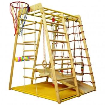 Детский спортивный комплекс Вертикаль Весёлый малыш Wood