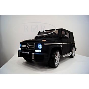 Электромобиль RiverToys Mercedes-Benz G63 черный матовый