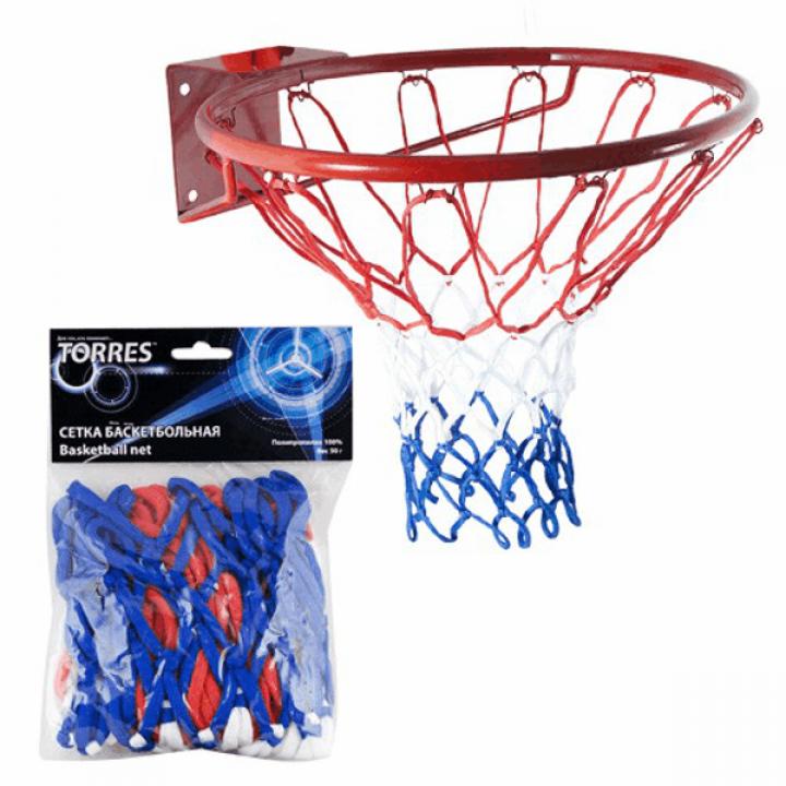 Сетка баскетбольная цветная Torres SS11050
