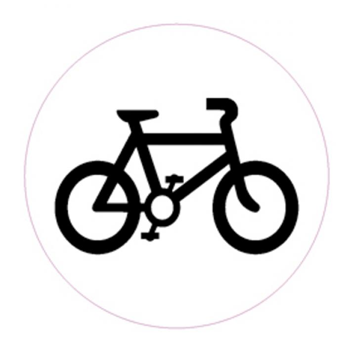"""Светоотражающий значок """"Велосипед"""""""
