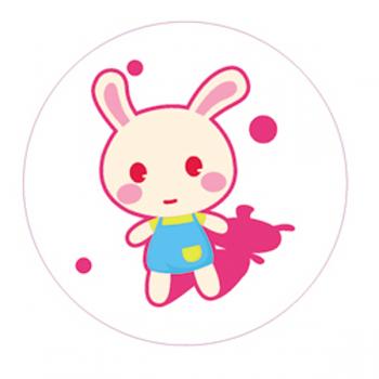 "Светоотражающий значок ""Кролик"""
