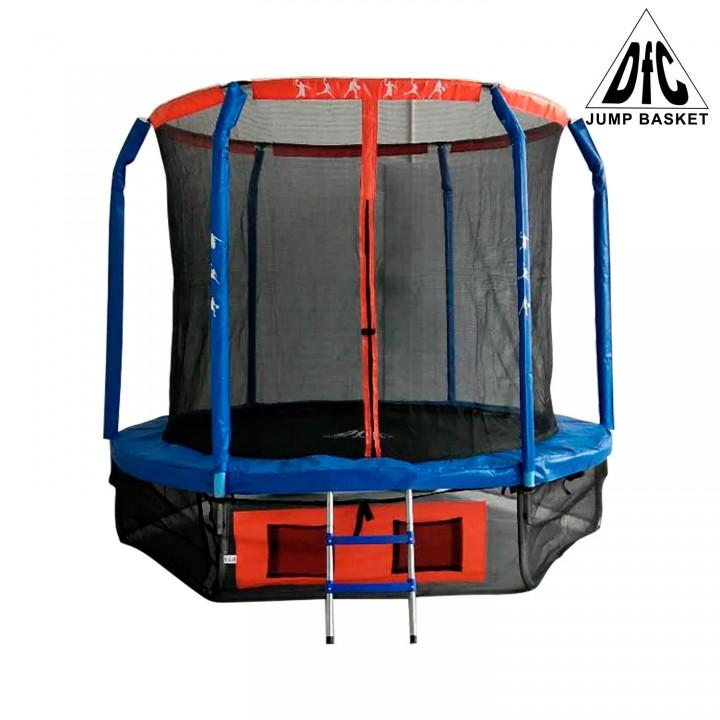 Батут с защитной сеткой DFC JUMP BASKET 10FT-JBSK-B