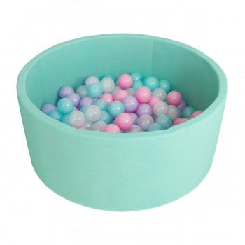Сухой бассейн ROMANA Airpool 150 шариков бирюзовый