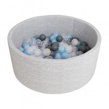 Сухой бассейн ROMANA Airpool 150 шариков серый