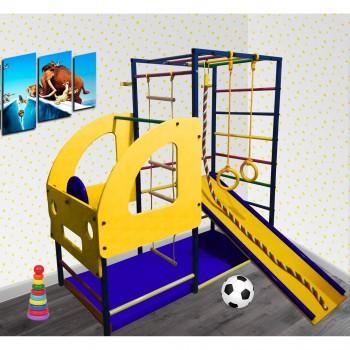 Детский спортивный комплекс Олимпик Грузовичок с горкой