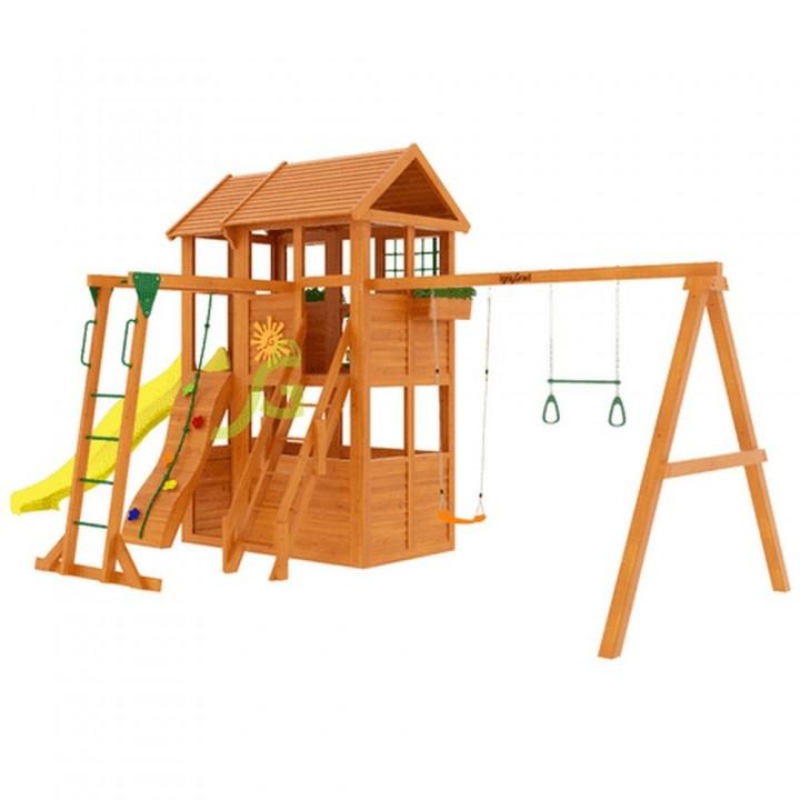 Детская игровая площадка IgraGrad Клубный домик 2 с рукоходом