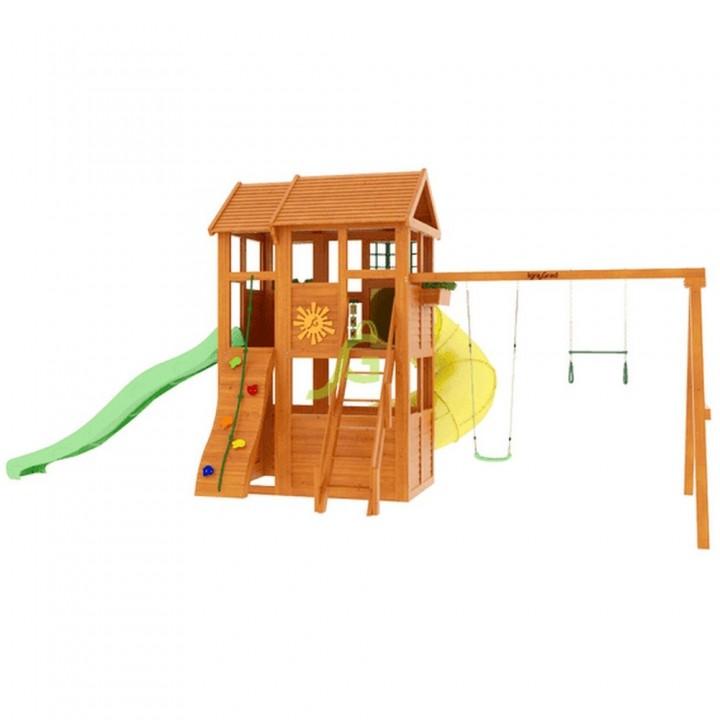 Детская игровая площадка IgraGrad Клубный домик 2 с трубой