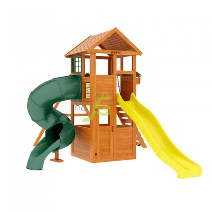 Детская игровая площадка IgraGrad Клубный домик с трубой