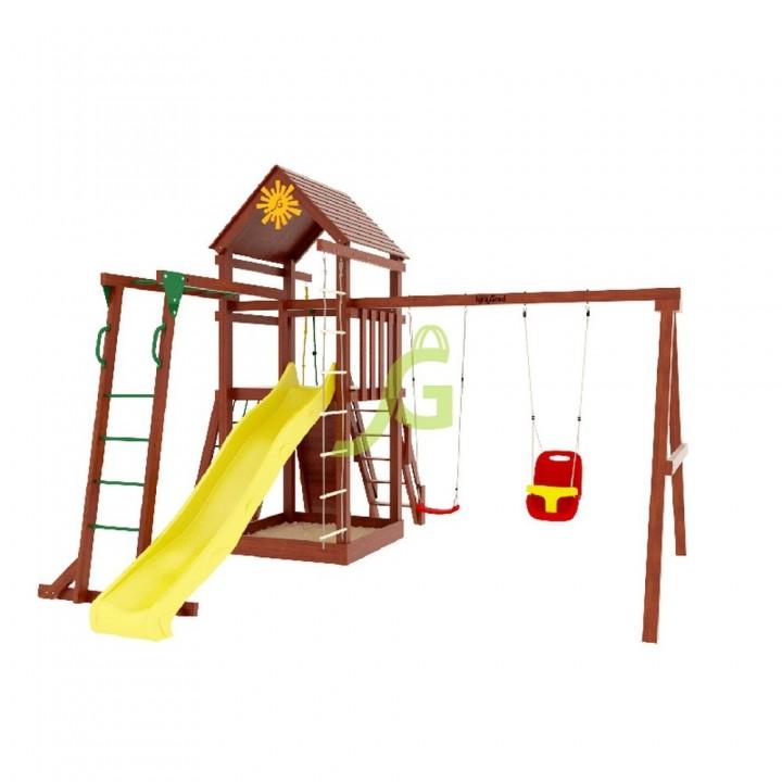 Детская игровая площадка IgraGrad Панда Фани Gride с рукоходом