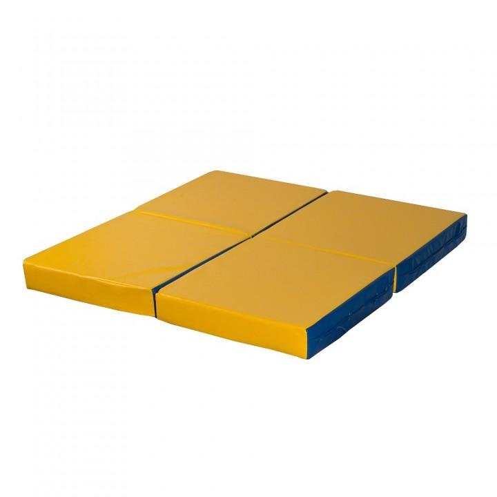 Мат гимнастический 100x100x10 см складной (4 слож)