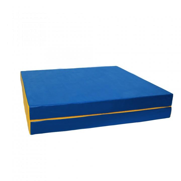 Мат гимнастический 100x200x10 см складной (2 слож)
