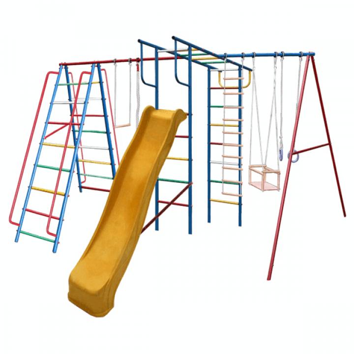 Дачный спортивный комплекс Вертикаль А1+П макси с горкой