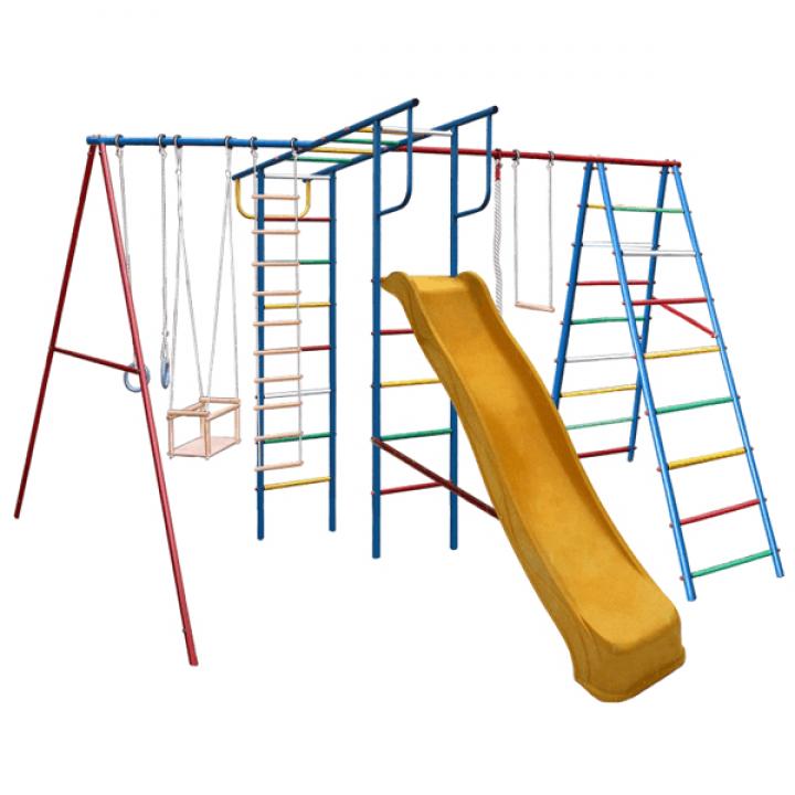 Дачный спортивный комплекс Вертикаль А+П макси с горкой