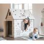 Картонный домик раскраска BibaLina КДР03-001