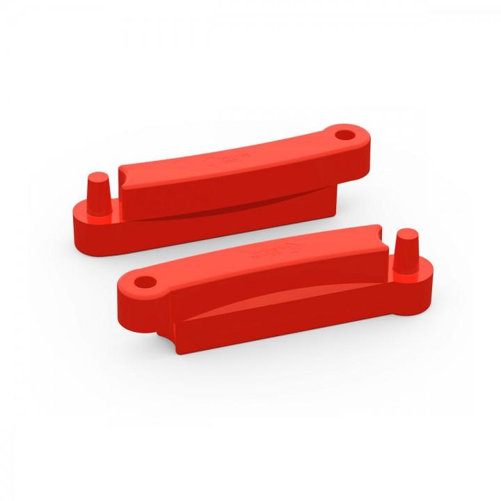 Элемент модульной песочницы Полимер 1200 красный