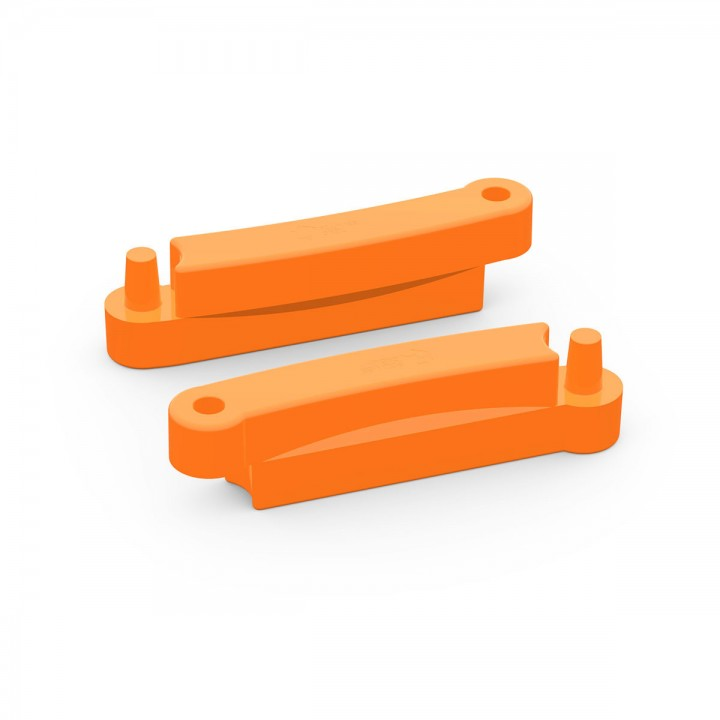 Элемент модульной песочницы Полимер 1200 оранжевый