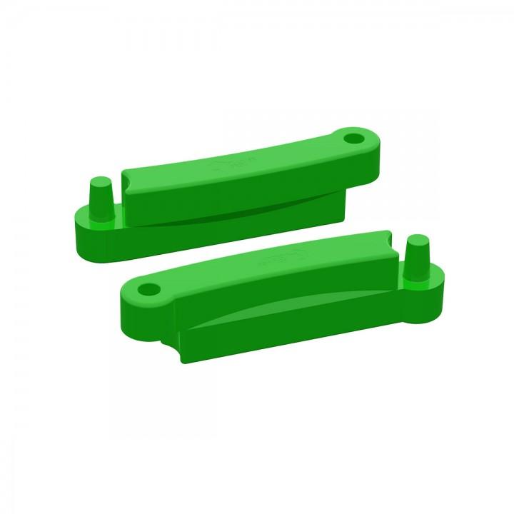 Элемент модульной песочницы Полимер 1200 зеленый