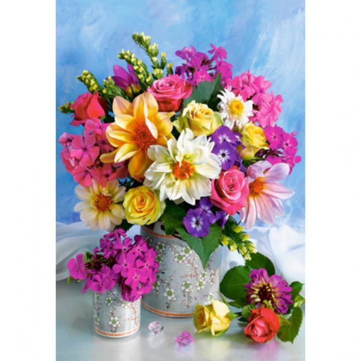 Пазл Букет цветов 1500 деталей Castorland C-151516