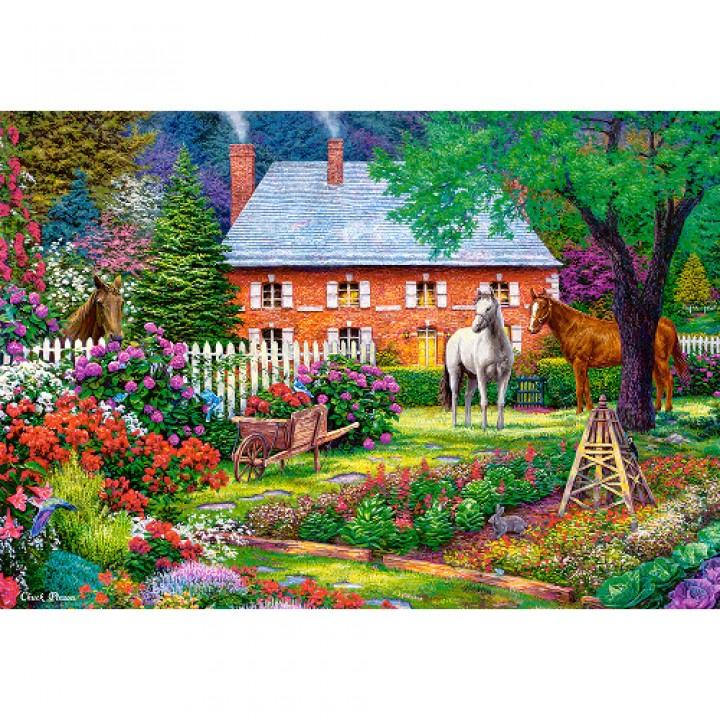 Пазл Чудсный сад 1500 деталей Castorland C-151523