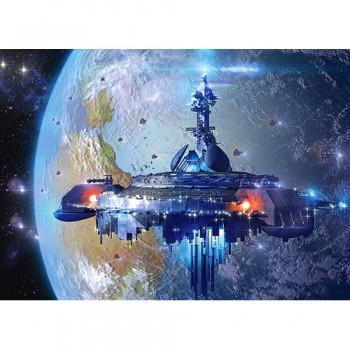 Пазл Космический корабль 120 деталей MIDI Castorland В-13272