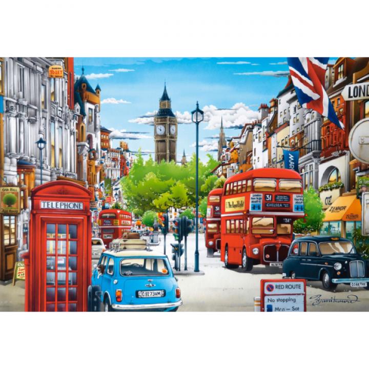 Пазл Лондон 1500 деталей Castorland C-151271