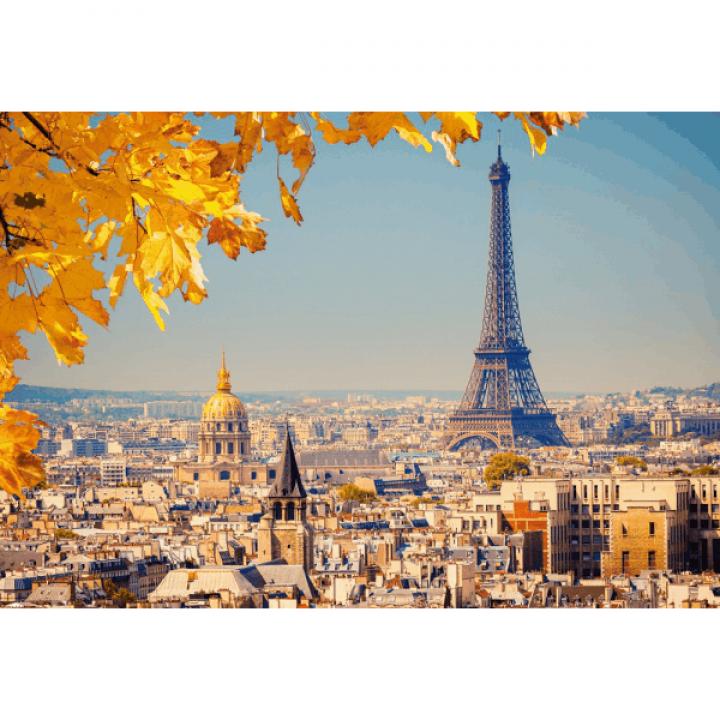 Пазл Осень в Париже 1000 деталей Castorland C-103089