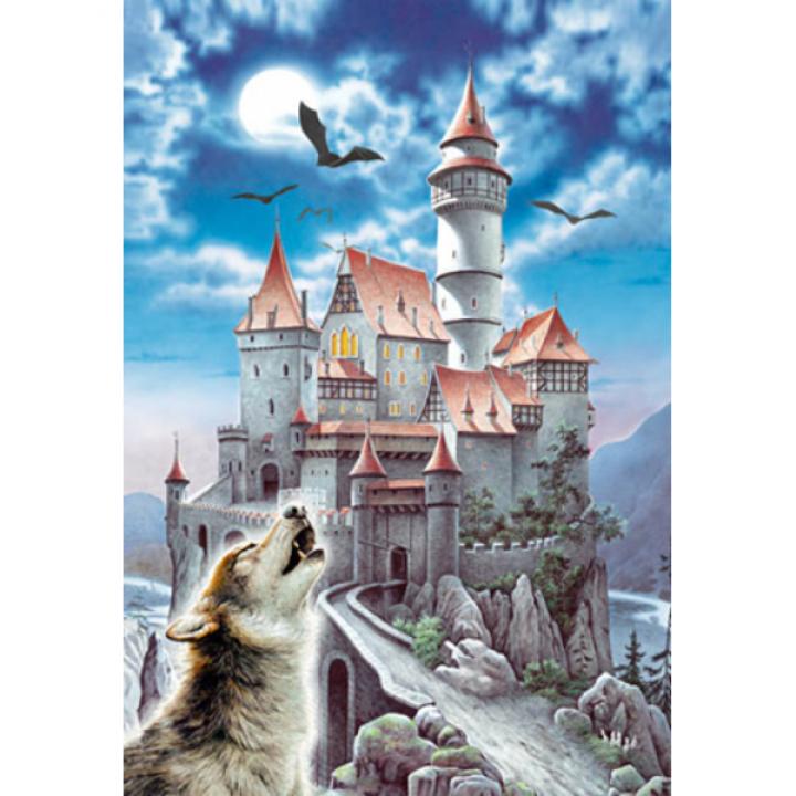 Пазл Замок в лунном свете 1000 деталей Castorland C-100699
