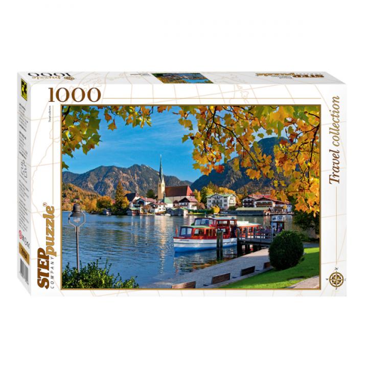 Пазл Бавария. Озеро Тегернзее 1000 деталей Степ Пазл 79104