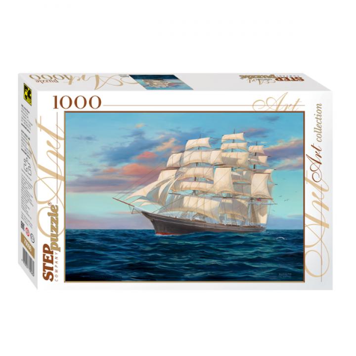 Пазл Корабль 1000 деталей Степ Пазл 79096