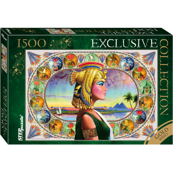 Пазл Нефертити (Золотая коллекция) 1500 деталей Степ Пазл 83403