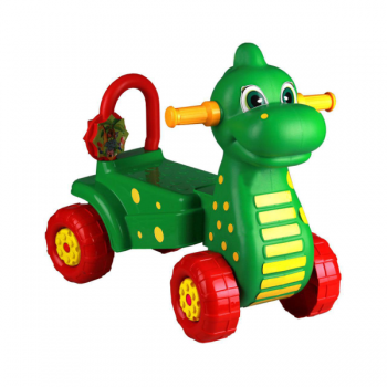 Каталка Дракон зеленый Альтернатива М3897