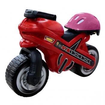 Каталка-мотоцикл МХ со шлемом Полесье 46765*