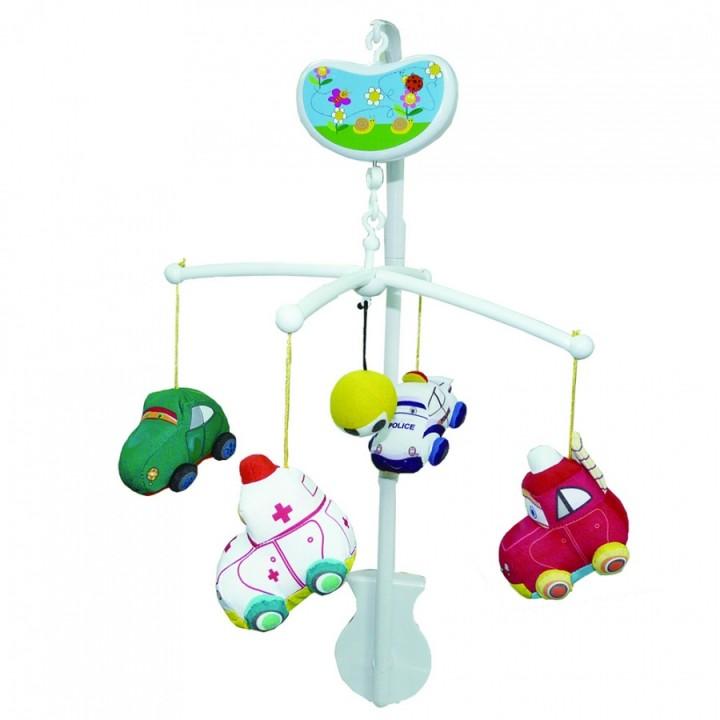 Мобиль Веселые машинки Biba Toys BM089*