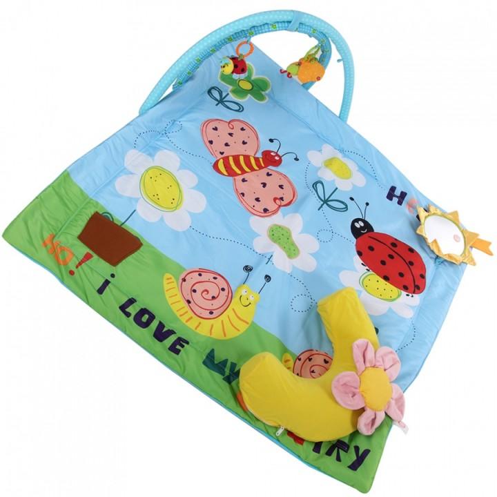 Развивающий коврик Веселый сад Biba Toys BP670