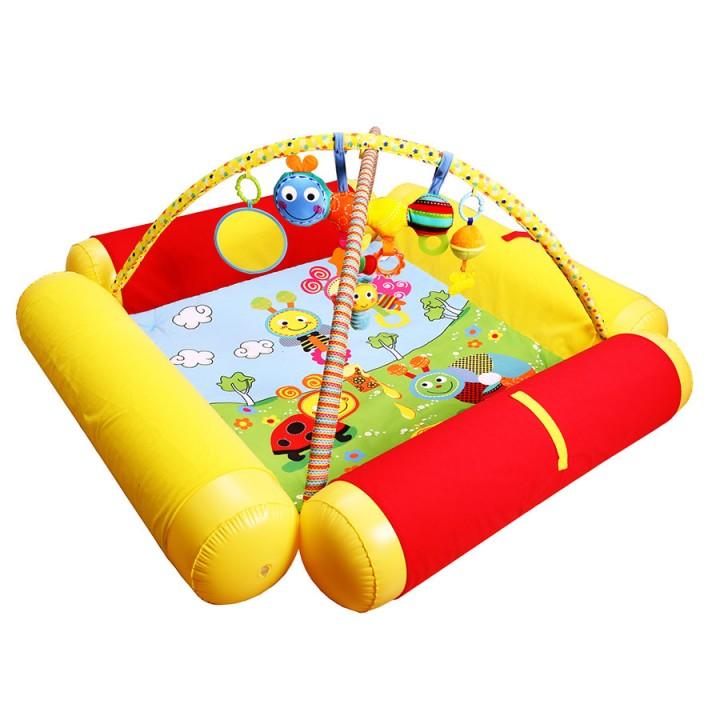 Развивающий коврик Друзья Бюсси Biba Toys GD158