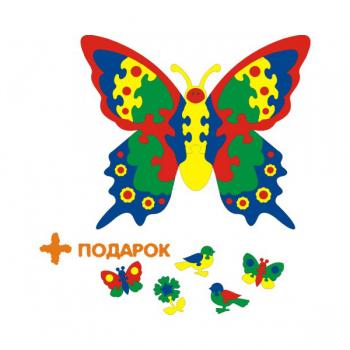 Коврик-пазл Флексика Бабочка Тедико 45438