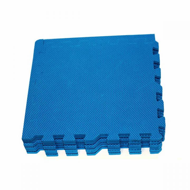 Модульное покрытие с кромками Экополимеры синий 30х30 9шт