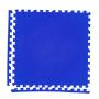 Модульное покрытие с кромками Экополимеры синий 60х60 4шт